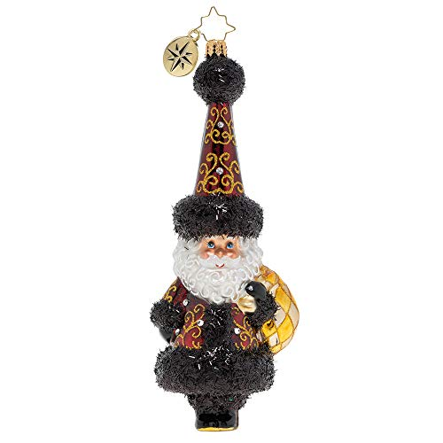 Christopher Radko Extravagant Santa Delivery Christmas Ornament