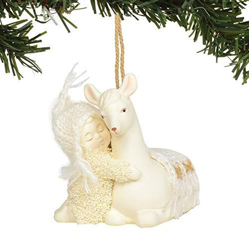 Department 56 Snowbabies Peaceful Kingdom Llama Hanging Ornament, 2.75″, Multicolor