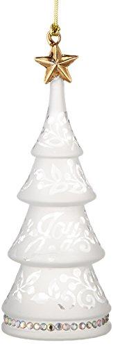 Lenox Joyous Tidings Tree Ornament -Joy