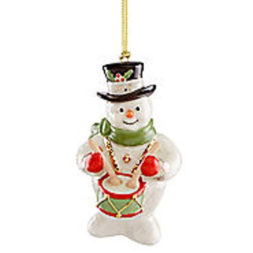 Lenox ~ 2019 Snowy Beat Snowman Ornament