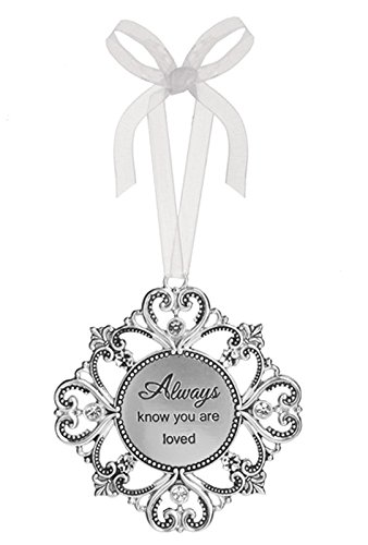 Always Know You are Loved Heart Petal Flower Ornament – By Ganz