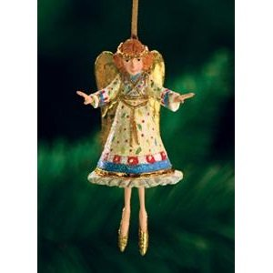 Patience Brewster Mini Heavenly Angel Ornament Christmas Holiday Tree Decoration