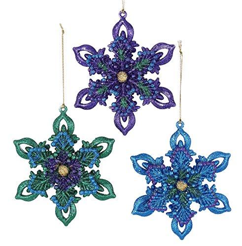 Kurt Adler YAMT2352 Ornament Set, 3 Piece
