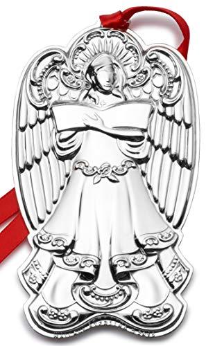 Wallace 2019 Grande Baroque Angel-19th Edition Holiday Ornament, Metal