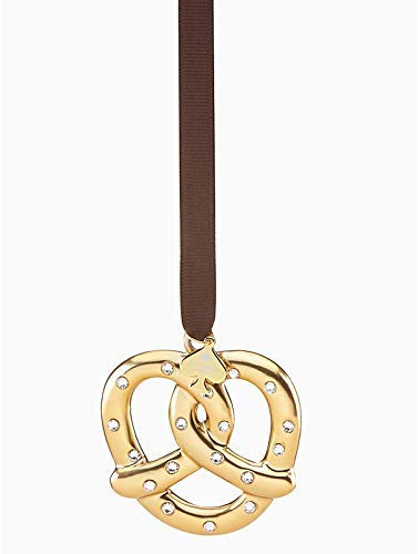 Kate Spade New York Pretzel with Pave Salt Ornament