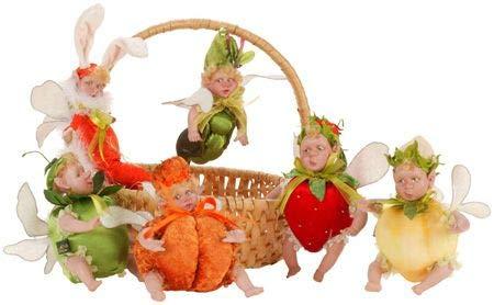 Organic Garden Baby Fairies Mark Roberts (Peach Baby)