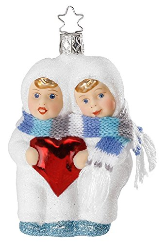 Inge Glas Children Heartfelt Greetings 1-047-14 German Christmas Ornament