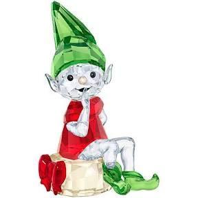 Swarovski Santa's Elf, red, green and clear crystal – 5402746