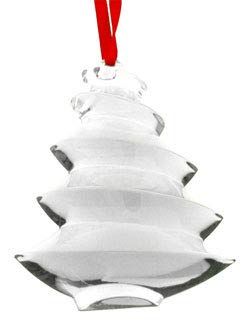 Baccarat Crystal Clear Noel Christmas Tree Ornament