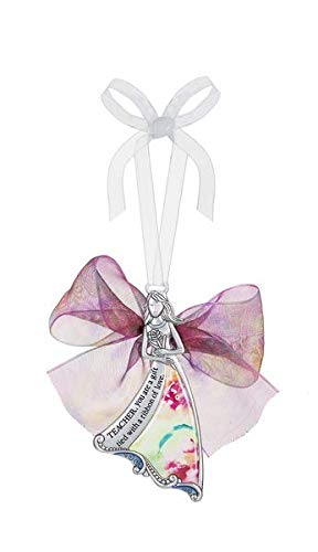 Ganz ER65817 Ornament Teacher You are a Gift Tied with a Ribbon of Love