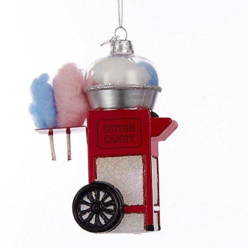 Kurt Adler Noble Gems Cotton Candy Machine Christmas Ornament