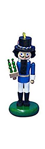 Steinbach wooden German Festival Nutcracker ornament – Blue