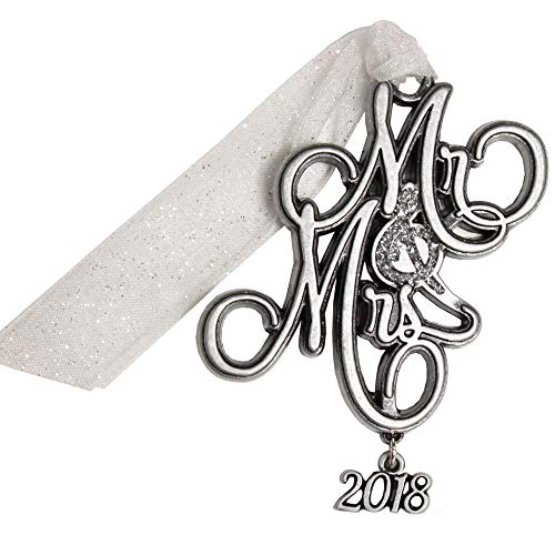 Gloria Duchin Pewter Mrs. Christmas Ornament, Silver