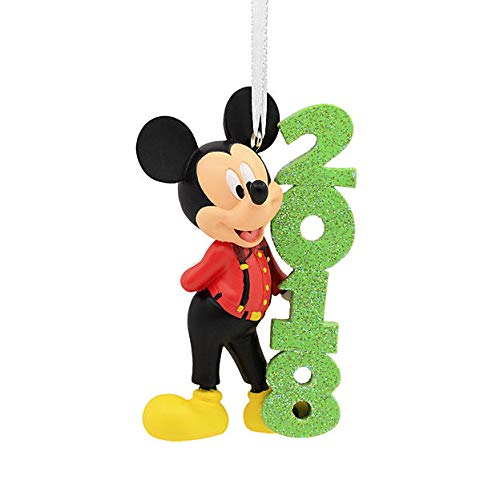 HMC Disney Mickey Mouse 2018 Christmas Ornament, Hallmark