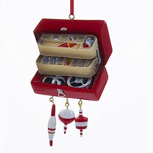 Kurt Adler Fishing Tackle Box Christmas Ornament