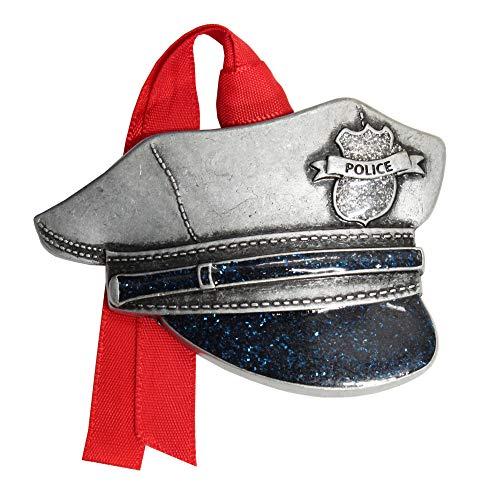 Gloria Duchin Police Hat Christmas Ornament, Multi