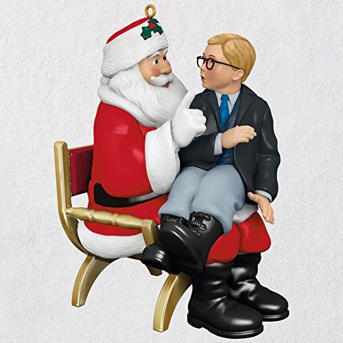 Hallmark Keepsake Christmas Ornament 2018 Year Dated, A Christmas Story Ho! Ho! Ho! With Sound