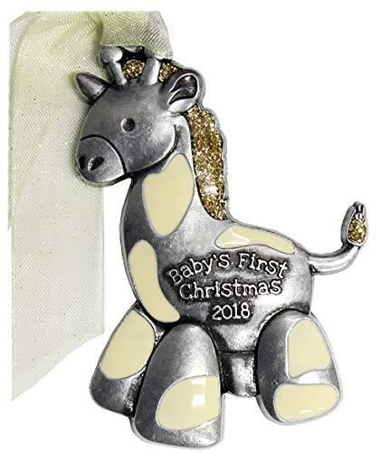 Gloria Duchin Giraffe 2018 Babys First Christmas Ornament