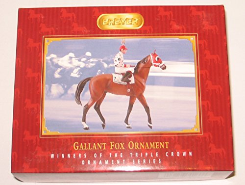 Breyer Gallant Fox Race Horse Ornament