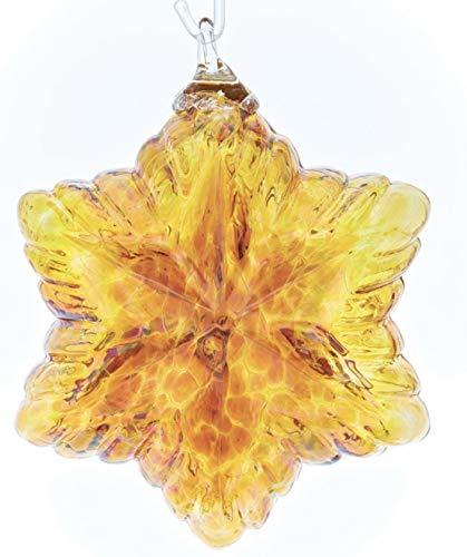 Glass Eye Studio Vintage Star Ornament – Gold