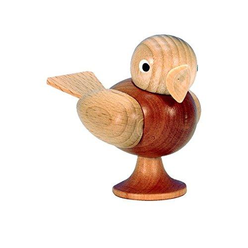Alexander Taron 13-0065 Christian Ulbricht Ornament – Bird – 2.5″ H x 2″ W x 3.25″ D Brown