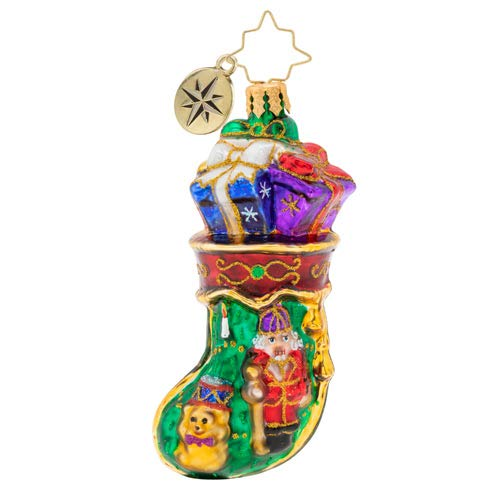 Christopher Radko Royal Stocking Stuffer Gem Christmas Ornament, 3.750, Multicolor