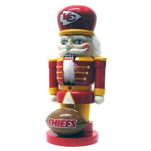 NFL Kansas City Chiefs Elite 7″ Nutcracker