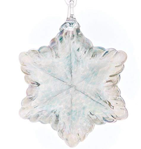 Glass Eye Studio Vintage Star Ornament – Seafoam