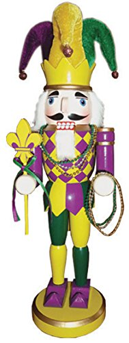 Santa's Workshop 70223 Mardi Gras Nutcracker, 14.5″