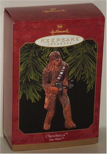 Chewbacca Star Wars 1999 Hallmark Keepsake Christmas ornament QXI4009