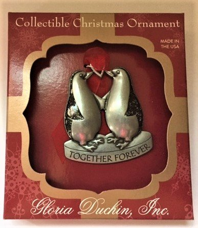 Gloria Duchin Together Forever Ornament