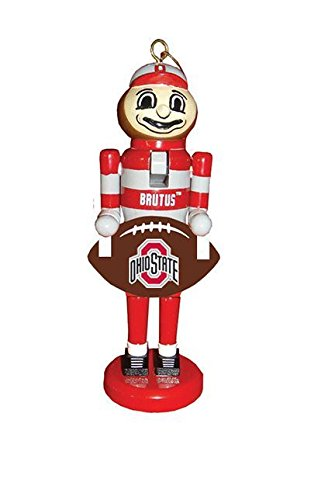 Santa's Workshop 6″ Ohio State Football Nutcracker