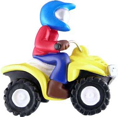 Rudolph and Me ATV, 4-Wheeler