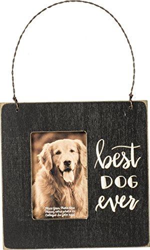 Primitives by Kathy PBK Home Decor – Best Dog Ever Photo Ornament Sign