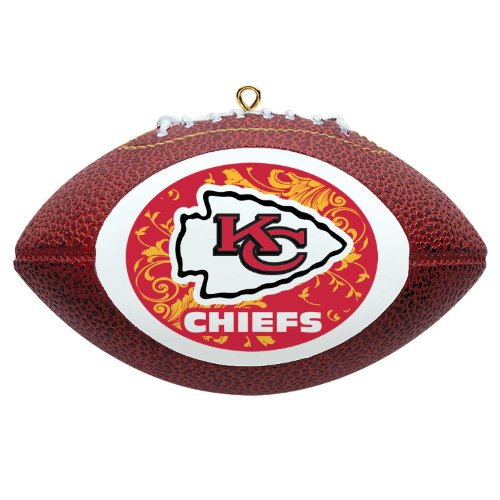 NFL Kansas City Chiefs Mini Replica Football Ornament