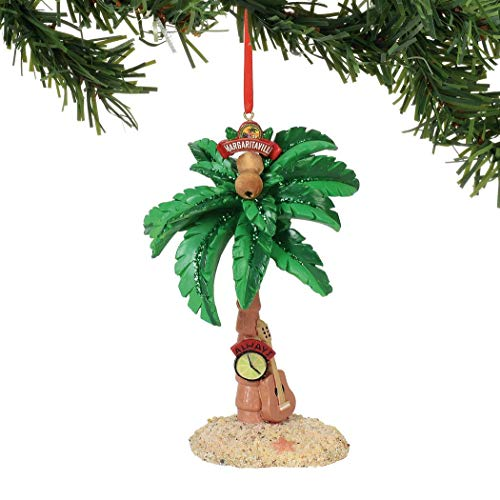 Department 56 Margaritaville Palm Tree, 4.875″ Hanging Ornament, Multicolor (Renewed)