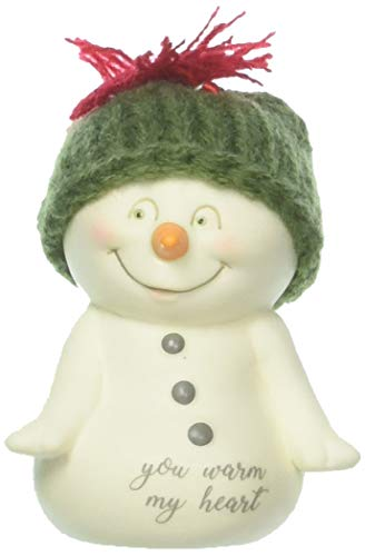 Department 56 Snowpinions You Warm My Heart Hanging Ornament, 2.75″, Multicolor