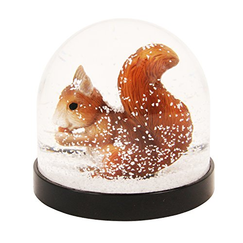 &Klevering Funny Snow Globe Squirrel. 3.14 x 3.34 in.