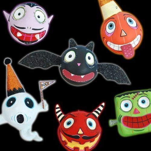 180 Degrees Holiday Ornament GLITTERVILLE Spooky Kooks GM0044 Devil Halloween Monster New