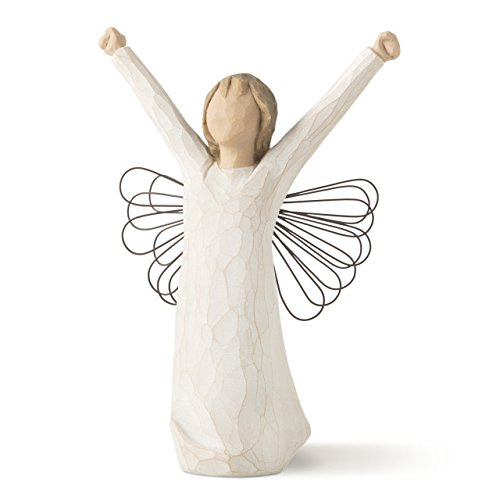 Willow Tree hand-painted sculpted angel, Courage (26149)