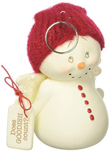 Department 56 Snowpinions Does Goodish Count, 3.375″ Hanging Ornament, Multicolor