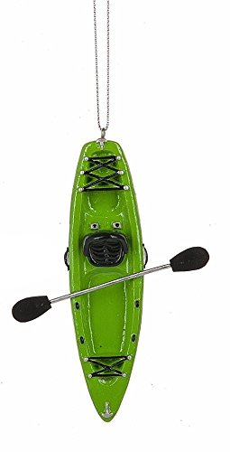 Midwest Seasons 2017 Kayak Ornament (Green)