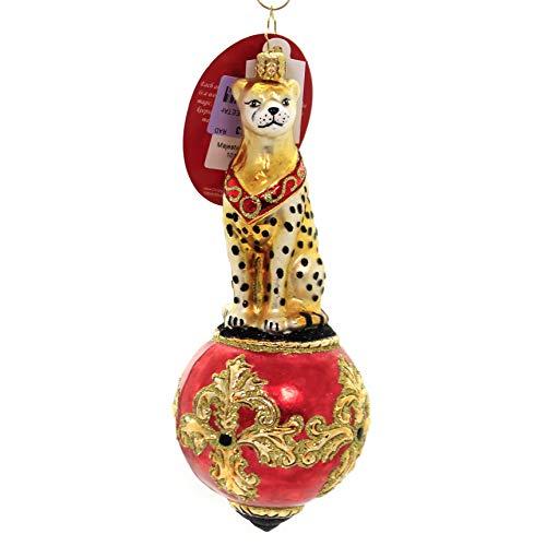 Christopher Radko Majestic Cheetah Christmas Ornament