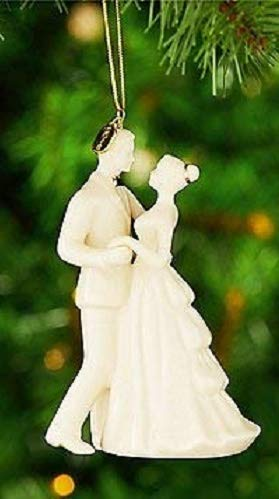 Lenox 2018 Bride & Groom Wedding Dance Annual Porcelain First Christmas ornament. New in box