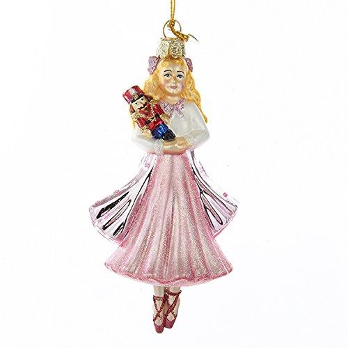 Kurt Adler 4.75″ Noble Gems Glass Clara Ornament