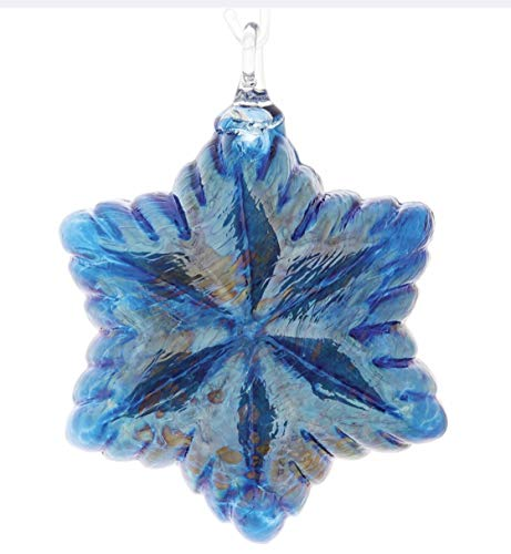 Glass Eye Studio Vintage Star Ornament – Cobalt Blue