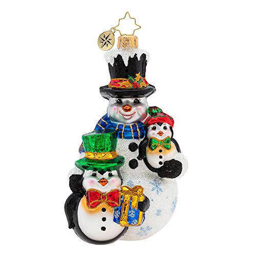 Christopher Radko Three's Company Christmas Ornament, Multicolored