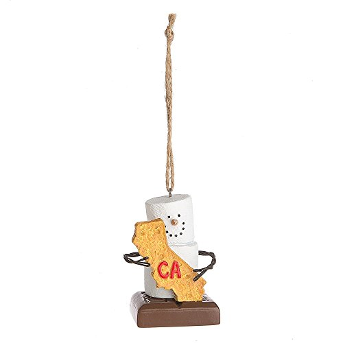 "Midwest CBK S'mores ""California"" Ornament"