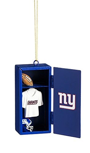 Team Sports America New York Giants Team Locker Ornament
