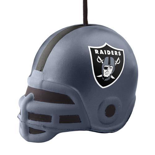 Topperscot Oakland Raiders Squish Helmet Ornament